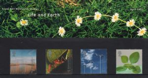 2000 Life and Earth Presentation Pack Number 310